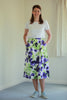 Cara Skirt - Apple/purple in 3 lengths 12 - 24