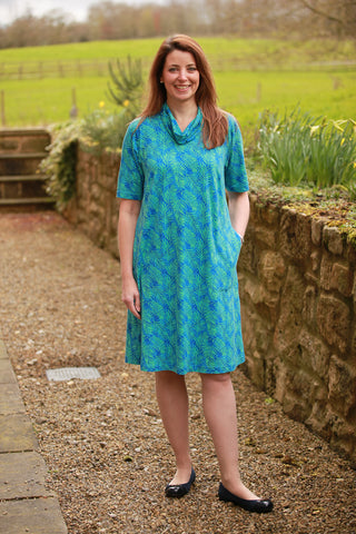 Weekender printed Jersey Dress in 3 lengths