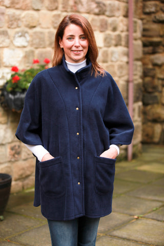 Wharfedale fleece Cape in four colours.