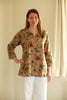 Nepal Top in Mocha floral prints Size 12/14 only