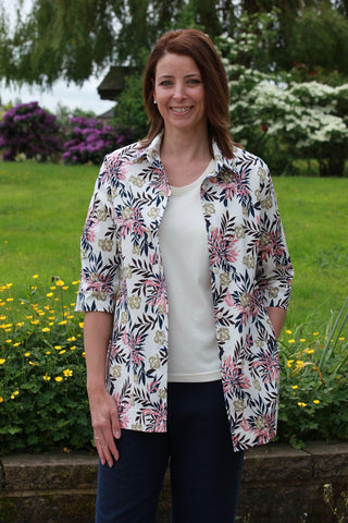 Shelley Print Overshirt