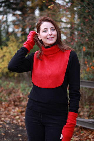 Fleece Neck Warmers for  Ladies and Men