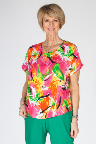 Sale Selina print top Size 20 only