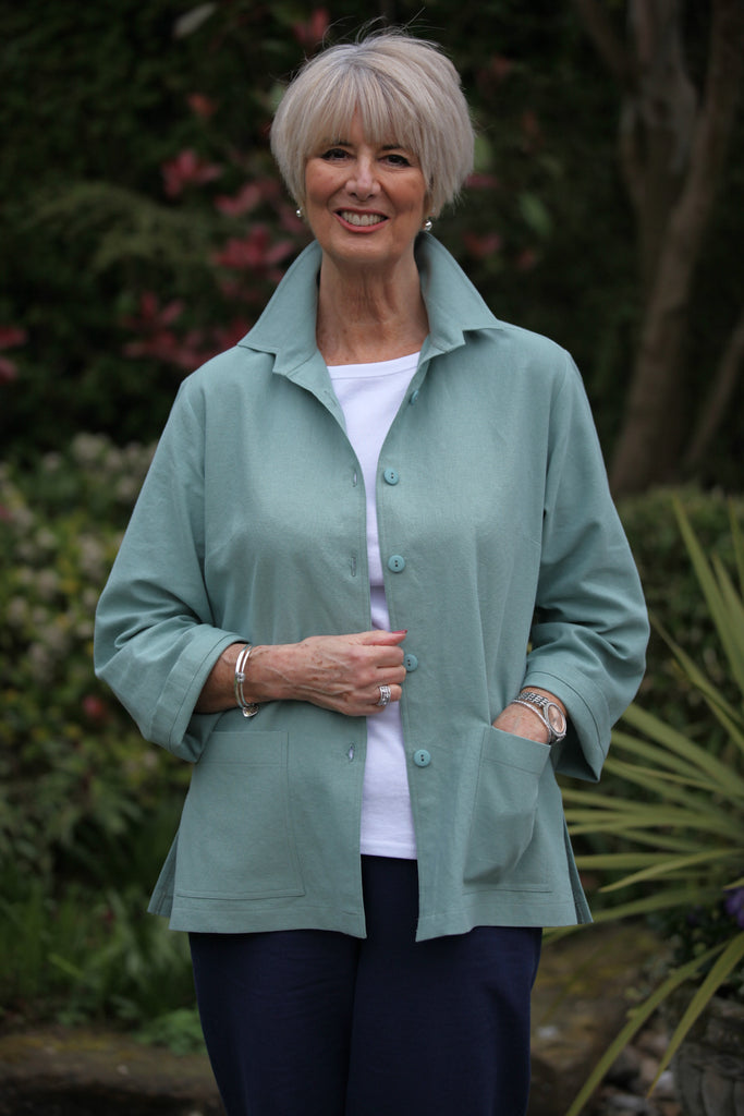 Georgia Jacket in Sage