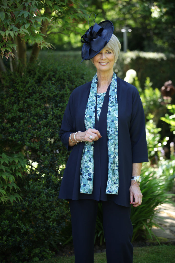 Camelia Jacket in Navy