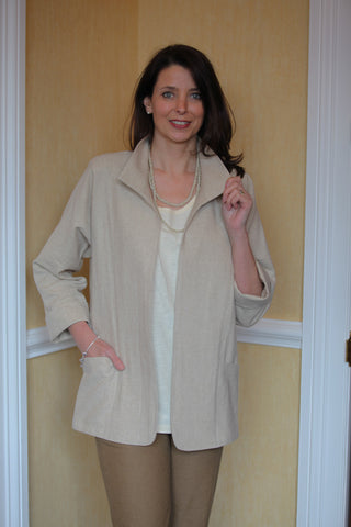 Havannah Jacket  in Natural