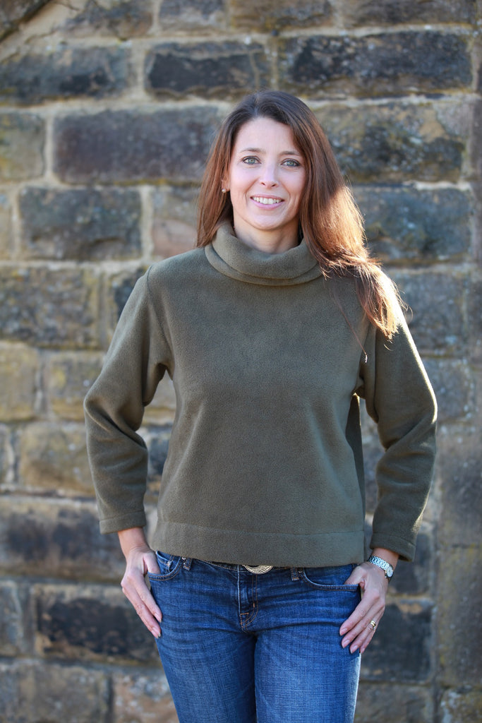 Kilnsey Cropped Fleece Top in 5 Colours