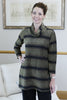 Gold/Black striped Evening Tunic