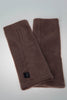 Fleece Wristwarmers in plain colours.