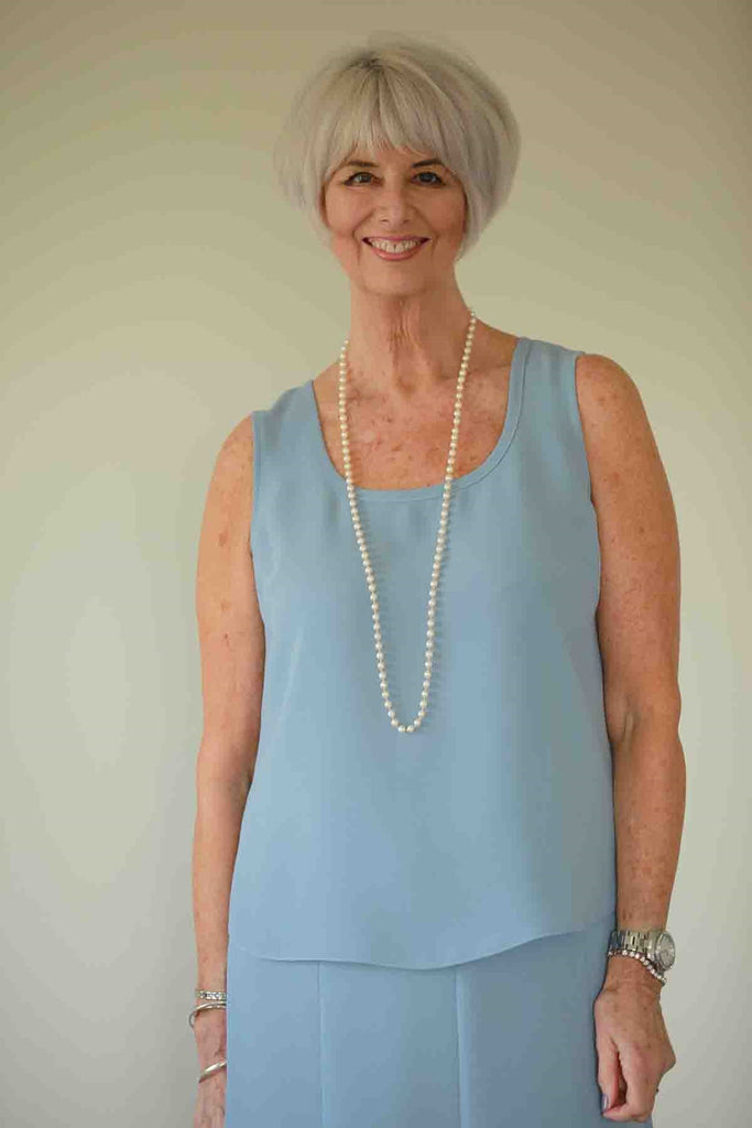 Cleo Crepe Vest in 4 Colours