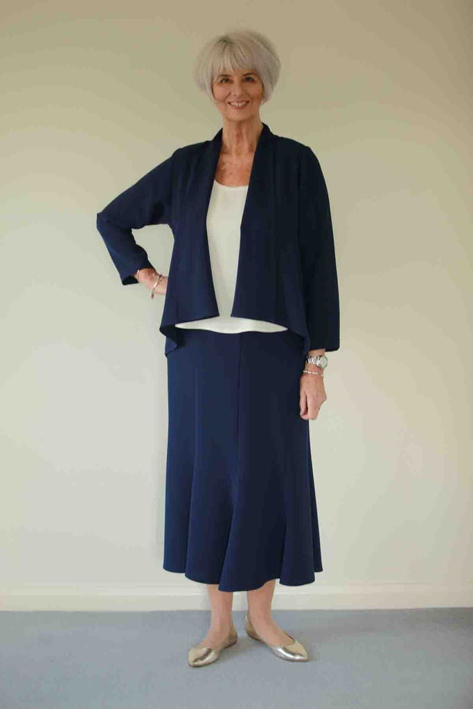 Stratford  Crepe Skirt  12 - 24 in 2 lengths