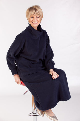 SALE  Fleece Kaftan in 5 colours