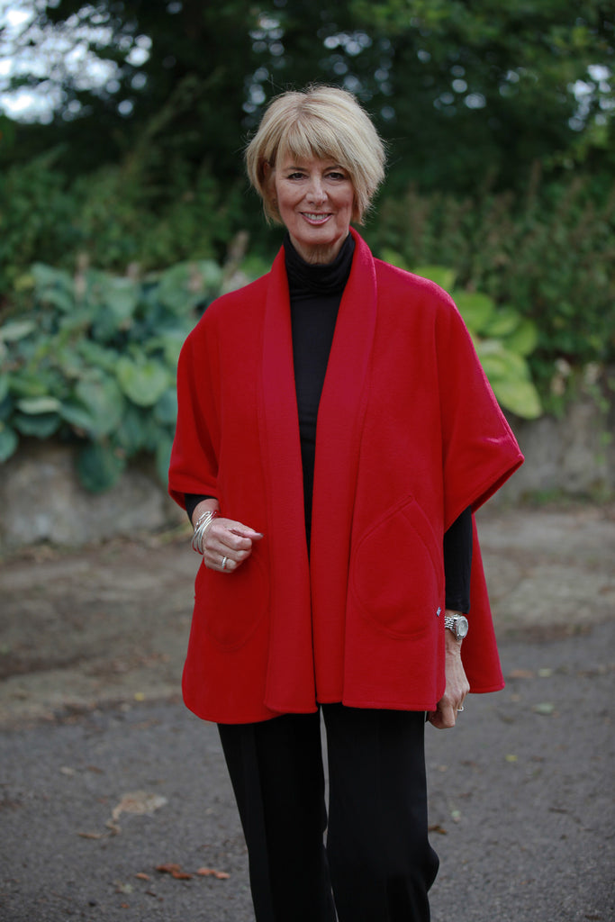 Classic Fleece Cape in 2 Colours