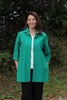 Shelley Jacket in Coral Turquoise and Jade  sizes 12 -24