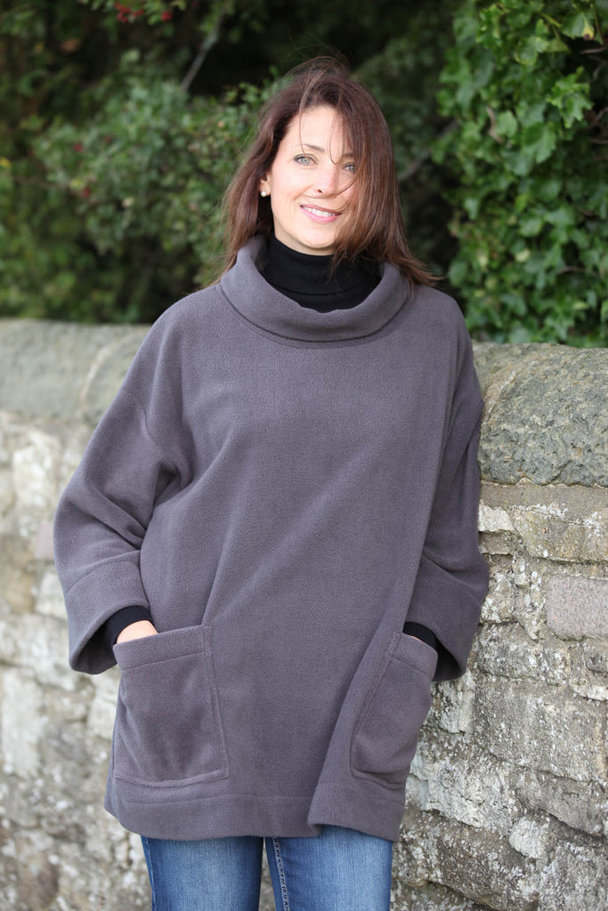 Moorland Fleece Top in two sizes and 3 colours