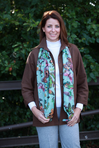 Pippa Butterfly scarf
