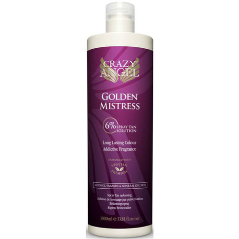 Crazy Angel Golden Mistress Spray Tan 6%