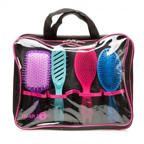 Head Jog Candy Colours Brush Bag Set