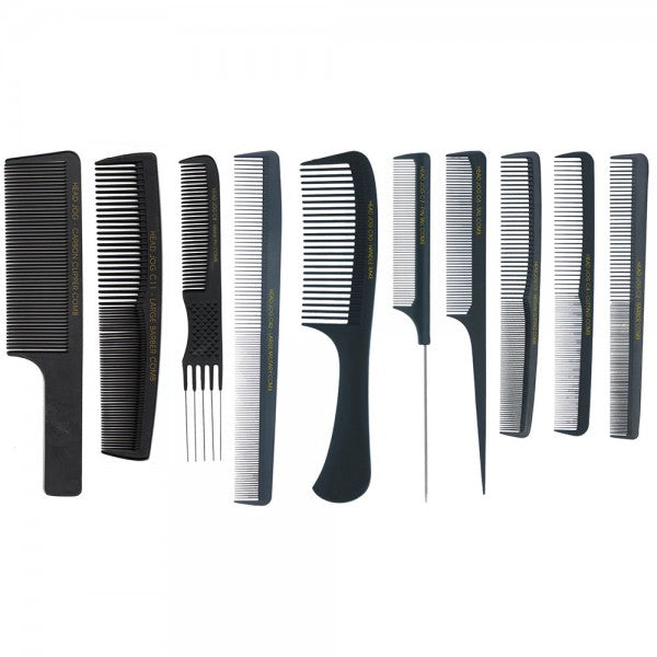Head Jog Carbon Fibre Combs