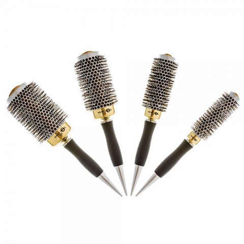Head Jog Gold Thermal Radial Brushes