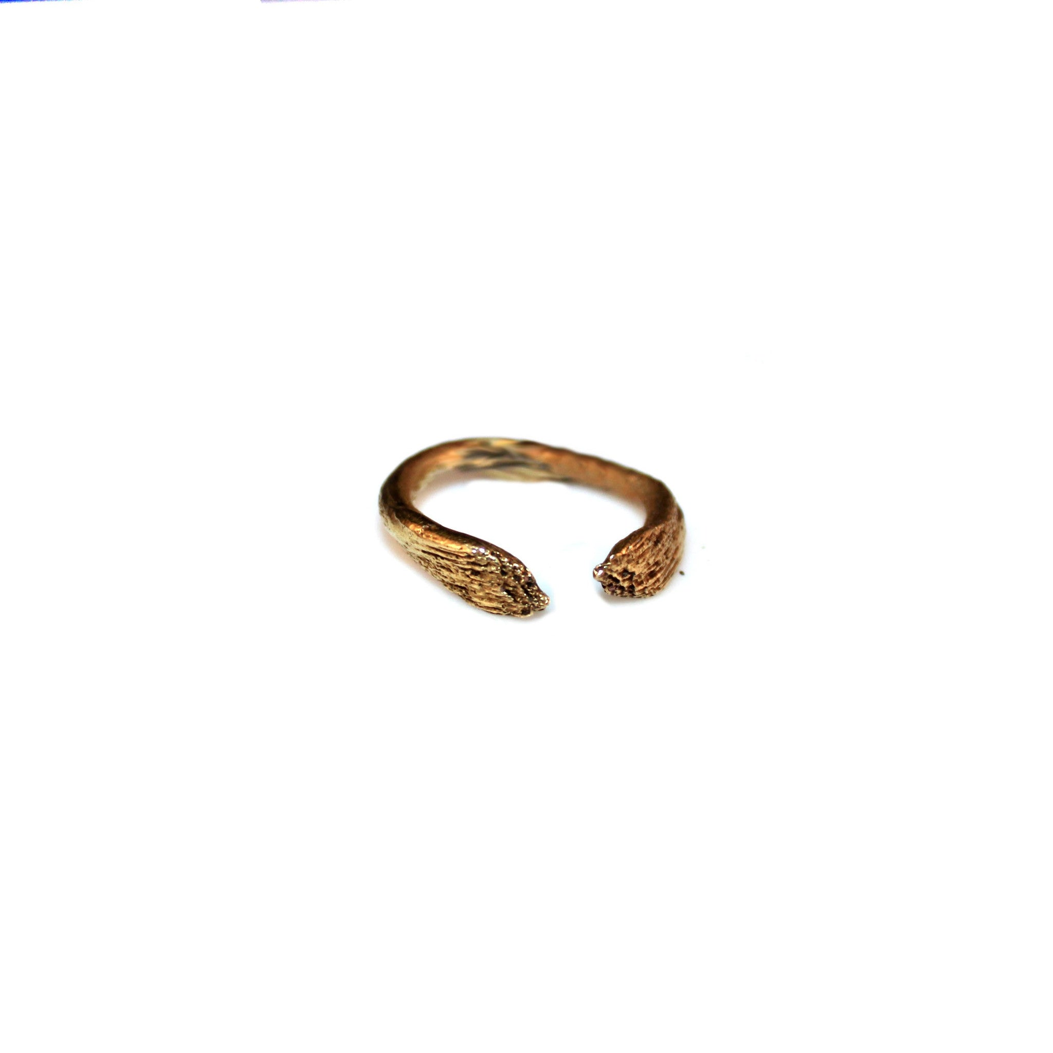 Slim Featherbone Ring