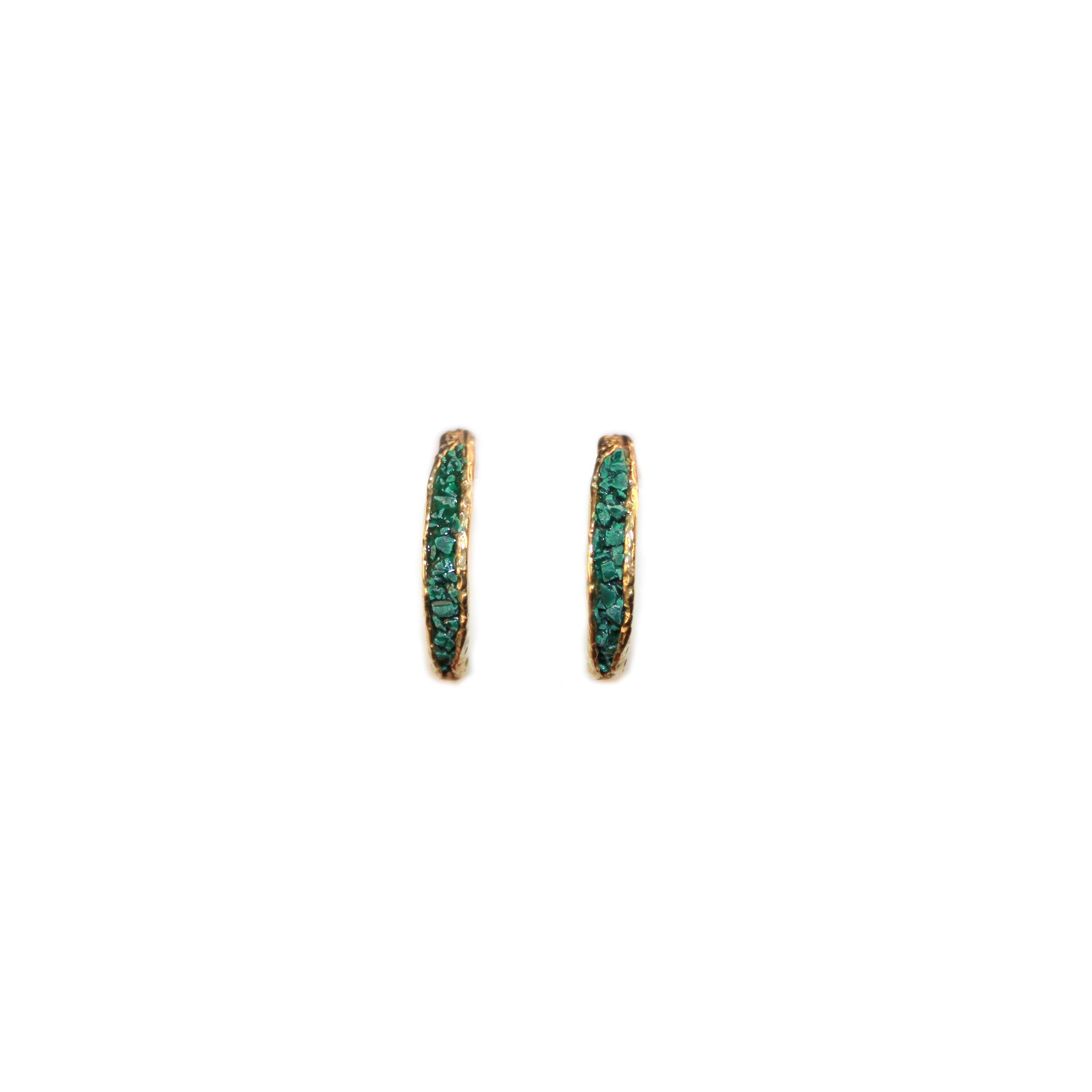Slice Inlay Earrings