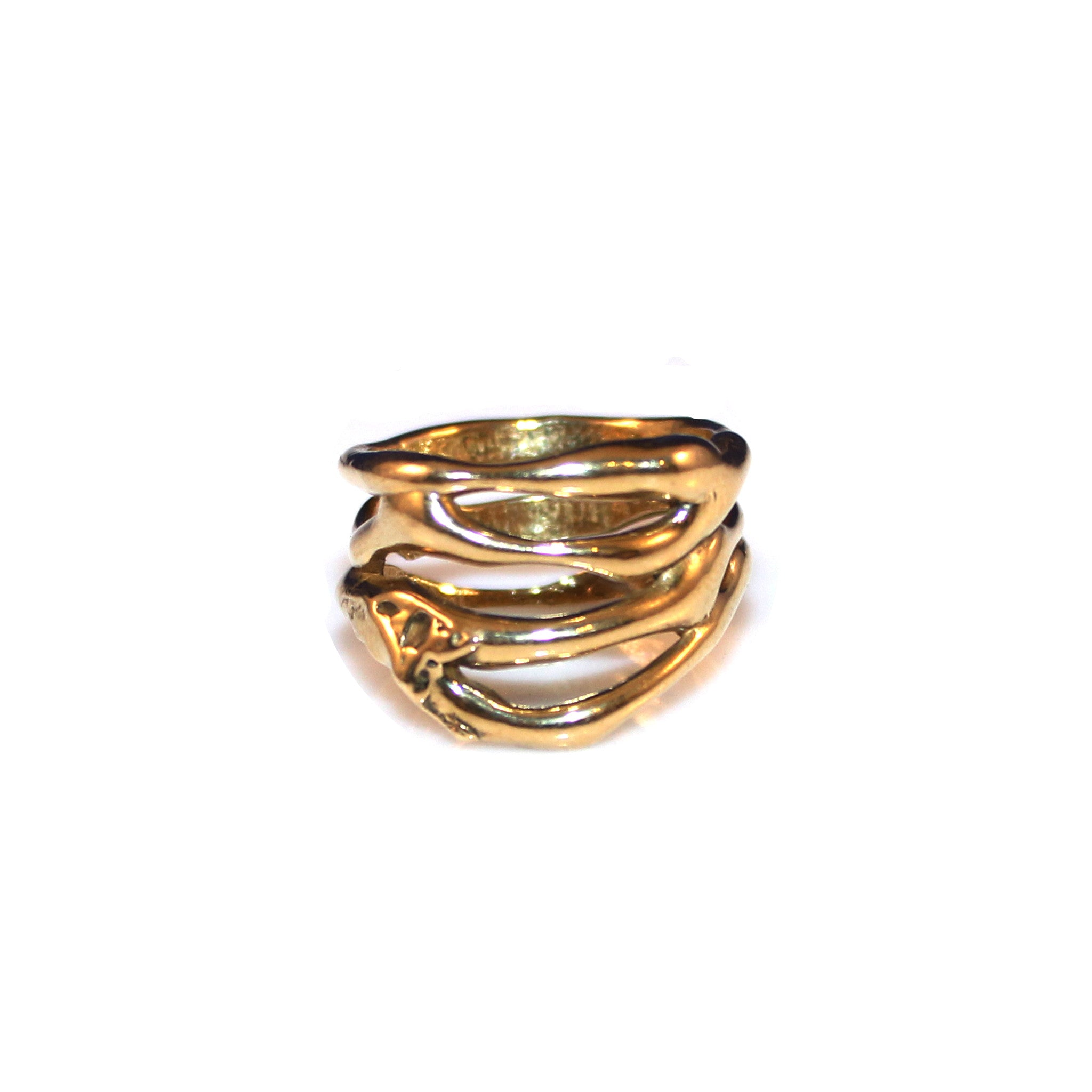 Melva Ring - Brass