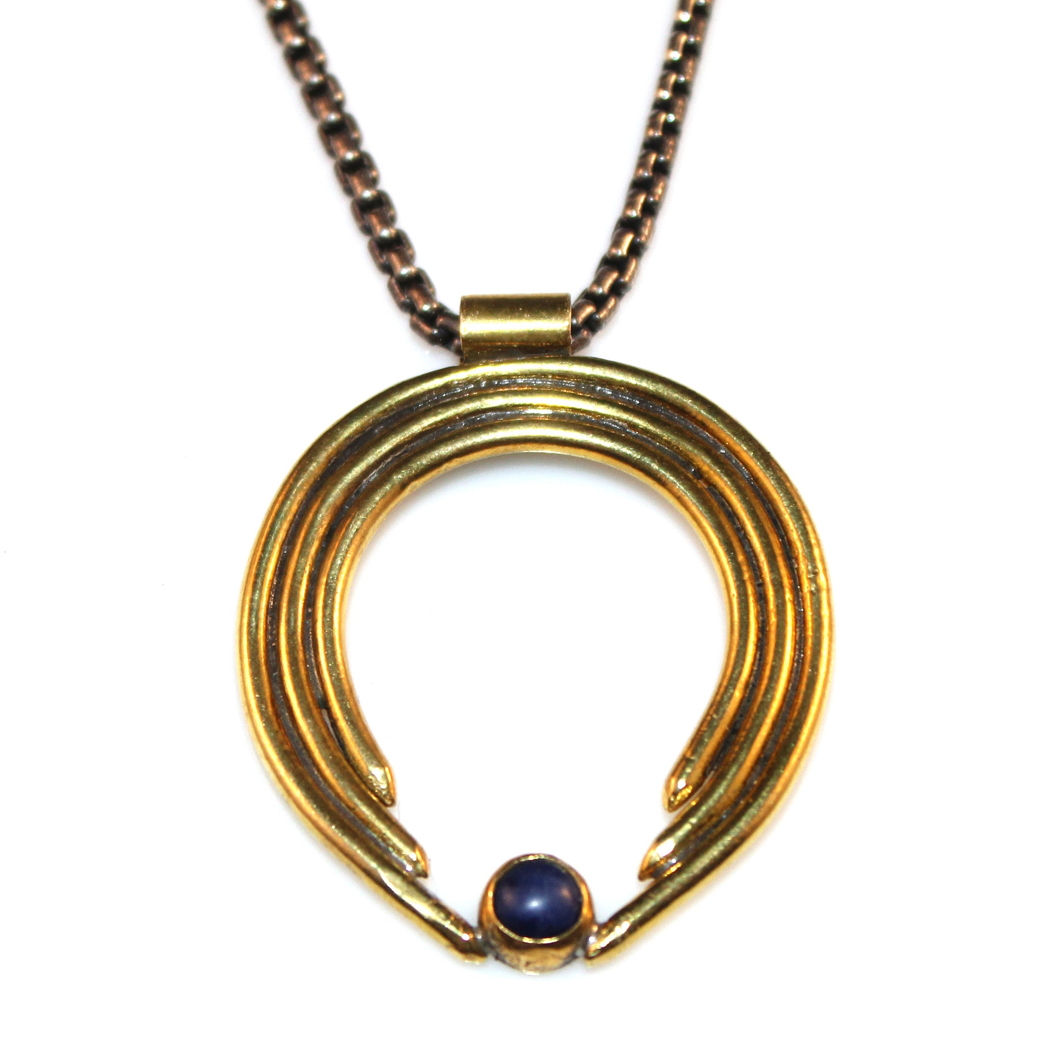 Donia Necklace - Center Stone