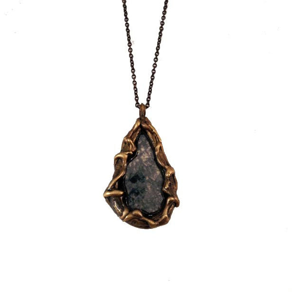 Uru Necklace - Antique Mirror
