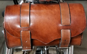 Tan Tool Bag W/ Fork Strap