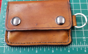 Tan Snap Wallet
