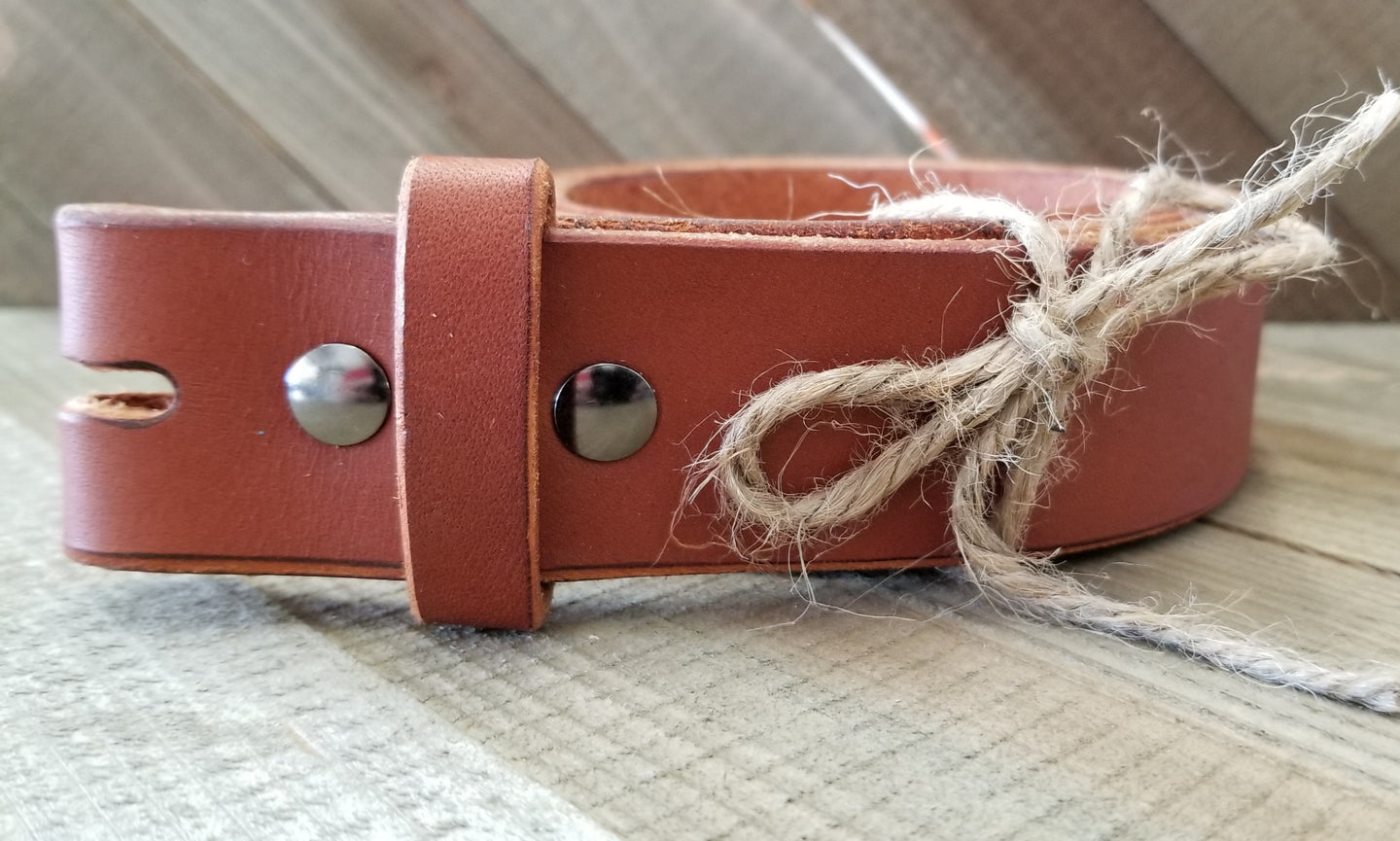 Handmade English Bridle Leather Belts.