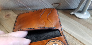 Four Pocket Custom Snap Wallet