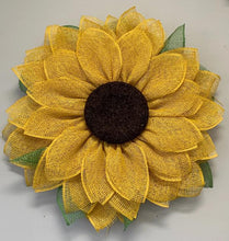Load image into Gallery viewer, 4/18/2020: DIY Sunflower or Daisy Wreath