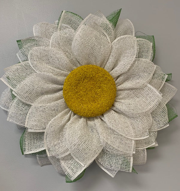 SOLD OUT! 4/4/2020: DIY Sunflower or Daisy Wreath