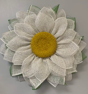 4/18/2020: DIY Sunflower or Daisy Wreath