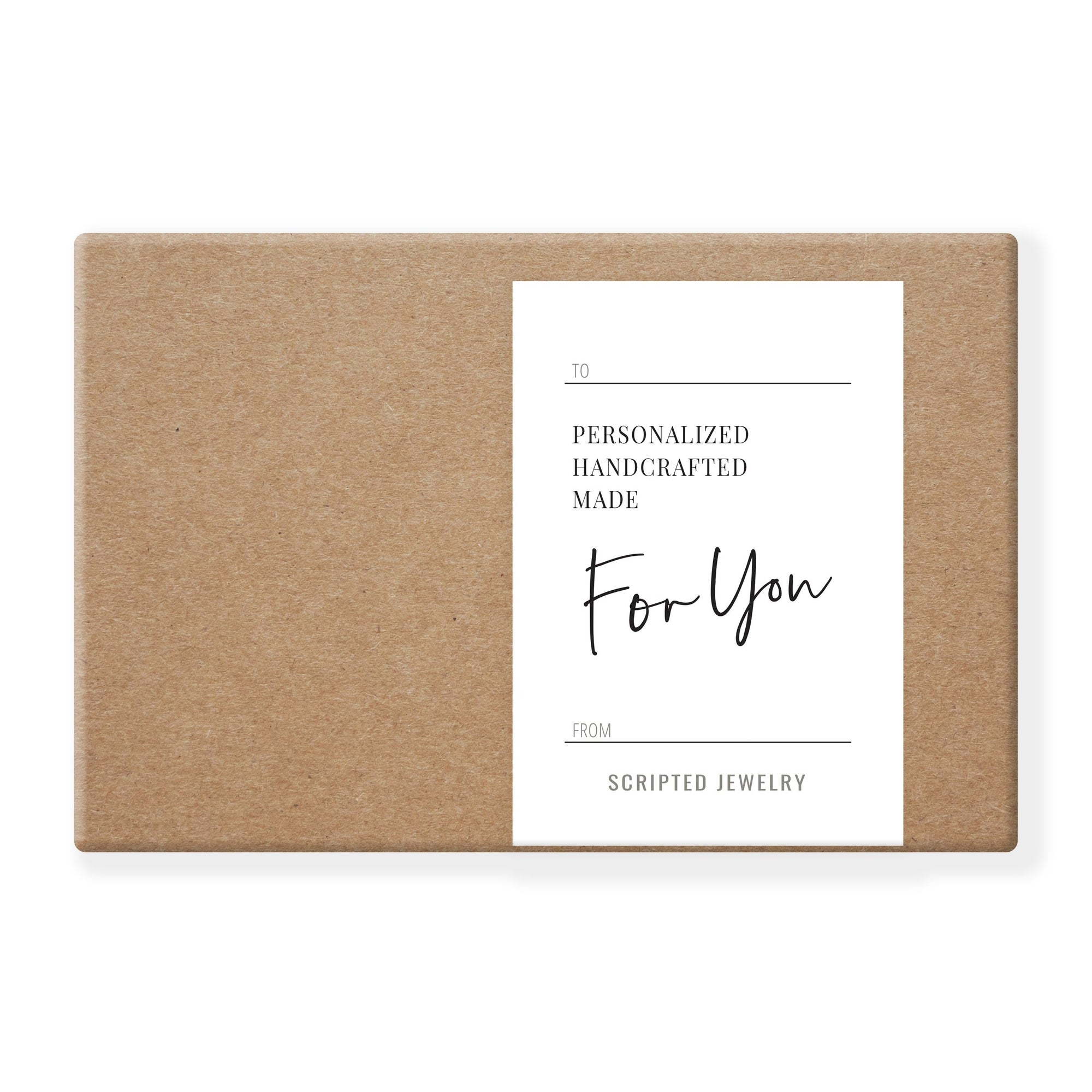 Gift Card - Scripted Jewelry - Handwriting Jewelry