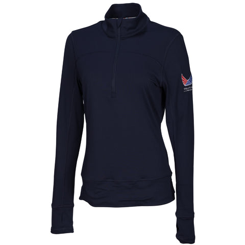 Volition Women's 1/4 Zip Popover