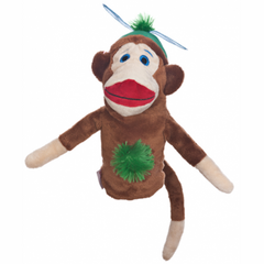 Boy Monkey Made of Sockies Hybrid