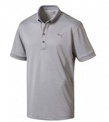 PUMA Oxford Heather Golf Polo