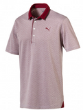 PUMA Diamond Jacquard Golf Polo