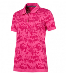 PUMA Women's EVOKNIT Camo Golf Polo