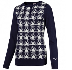 PUMA Women's Dassler Golf Sweater