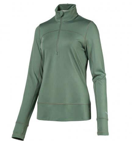 PUMA Women's 1/4 Zip Golf Popover