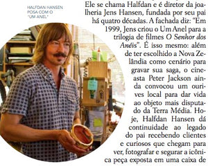 Brazil travel nelson lord of the rings jens hansen one ring to rule them all