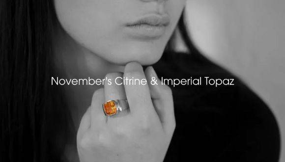 November's Citrine & Imperial Topaz