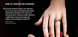 WHAT DETERMINES THE VALUE OF A DIAMOND