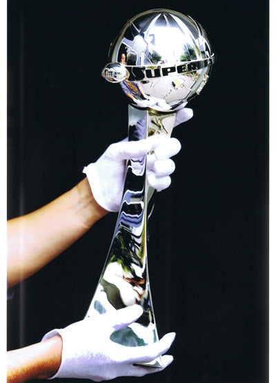Jens Hansen Handcrafts Sterling Silver Super 14 Trophy