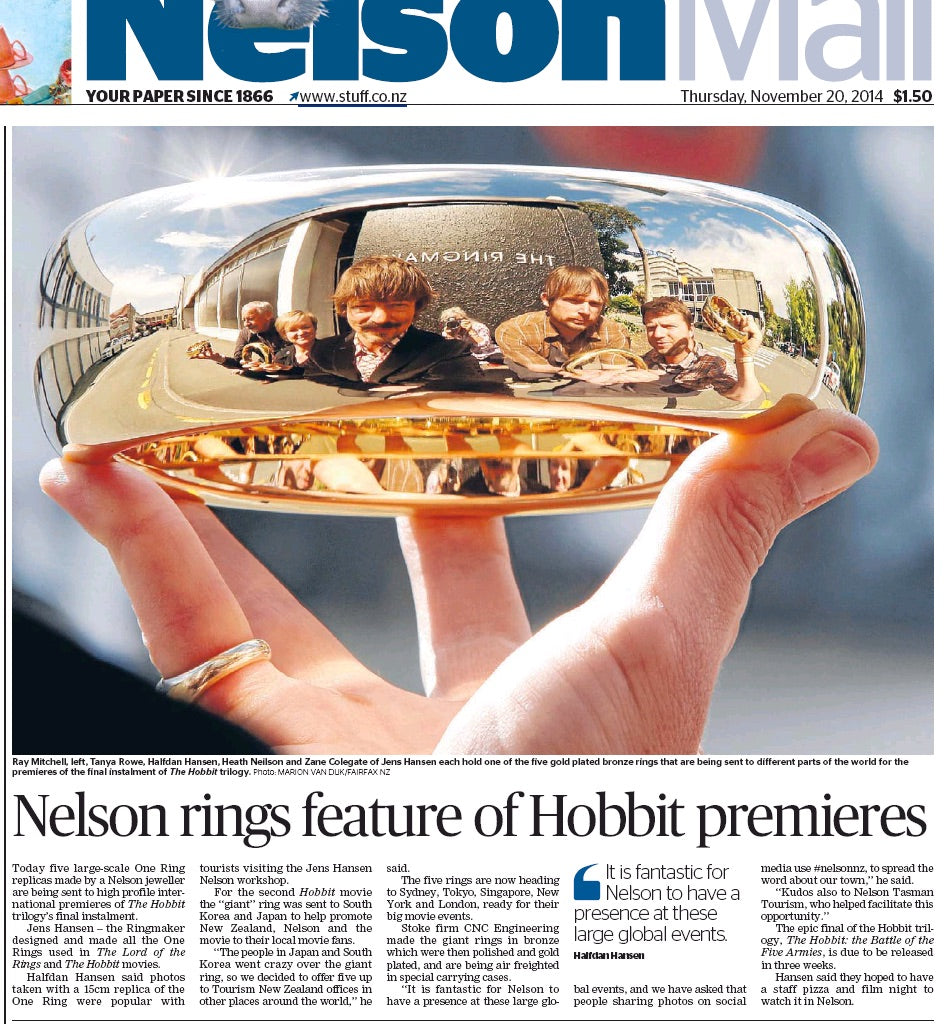 jens hansen one ring to rule them all