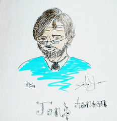 Aspiring Artist Submits Portrait of Jens Hansen